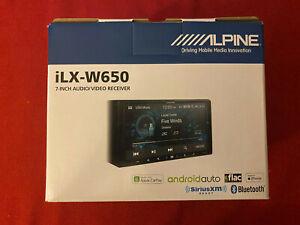 "Alpine ILX-W650 Double Din 7"" Touchscreen Radio Media Bluetooth Carplay Android"