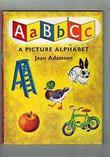 JEAN ADAMSON ABC A Picture Alphabet - 1962 hardback