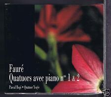 FAURE CD NEW QUATUORS 1.2./ 3 ROMANCES/ PASCAL ROGE/ QUATUOR YSAYE