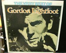 Gordon Lightfoot, Very Best. Vinyl LP UA-LA381-E Stereo 1975  Play-tested. Exc