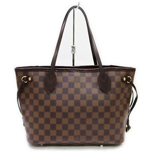 Louis Vuitton Tote Bag Neverfull PM Damier N51109 Browns Damier  1903637