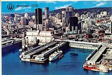 Canada Montreal Quebec Port Harbour gateway St. Lawrence Seaway 1976