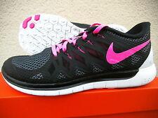 WMNS Nike Free  5,0 Lauf- u. Freitzeitschuhe  Gr 38 Schwarz-Pink  642199 062