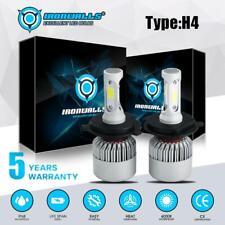 H4 9003 HB2 LED Headlight Bulb Conversion Kit High Low Beam 2000W 300000LM White