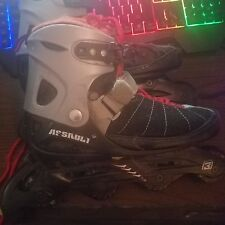 Inline Skates Roller Blades True Assault Abec-3 Adjustable Size 5-8