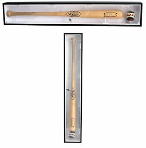 Baseball Bat Display Case Rack Cabinet Holder, w/UV Protection
