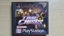 TIME CRISIS - PS1 Playstation One Pal Game - Boxed Complete