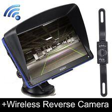 "Xgody 7"" Car Gps Navigation w/ Bluetooth Av-In Sat Nav+Wireless Rearview Camera"