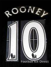 Manchester United Rooney 10 Football Shirt Name/Number Set Child/Youth Printing