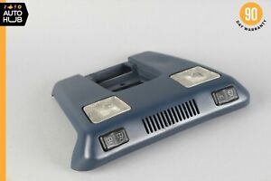 90-02 Mercedes R129 SL500 SL320 500SL Overhead Dome Light Lamp Blue OEM