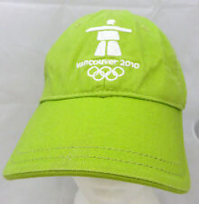 Vancouver Olympics 2010 baseball cap hat adjustable