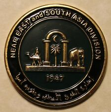 Central Intelligence Agency CIA Near East & S. Asia Div Station Challenge Coin