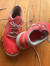 Adidas Adipure Trainer Pink Coral Running Shoes Size 7.5 US Womens