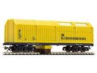 LUX 8831 Gleisstaubsaugerwagen DC analog und digital Gleisstaubsauger H0 Neu