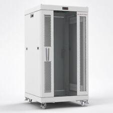 "22U 35"" Deep GRAY Server Telecommunication Network Data Rack Cabinet Enclosure"