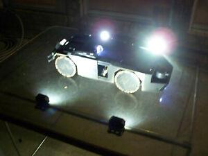 1/6 Scale Batmobile, 1/18 Scale Aliens APC Landing Pad Lights -Prop for Hot Toys