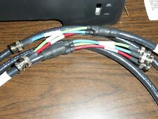*NEW* RGB COAX / Component VIDEO EXTENSION CABLE ASSEMBLY 3 RF BNC to 3RF BNC