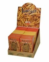 Larvets Worm Snacks Real Edible Insects BBQ, Cheddar Cheese, Mexican Spice 24 ct