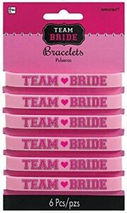 Hens Night Party Accessories Team Bride Bracelets Gifts Favours Presents