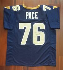 Orlando Pace Autographed Signed Jersey St Louis Rams JSA