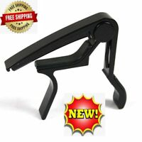 Guitar Capo Acoustic Electric Quick Change Key Clamp Ukulele Mandolin banjo USA
