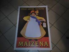 Affiche poster 50cm par 70cm maïzena chocolat éditions Clouet
