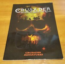 Crusader Historical Miniature Rules - war game rulebook Mark Sims tabletop