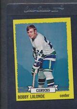 1973/74 Topps #189 Bobby Lalonde Canucks NM *482