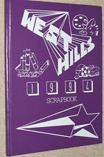 1994 West Hills Middle School Yearbook Annual West Bloomfield Michigan MI