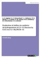 Production of Olefins Via Oxidative de-Hydrogenation of C3 C4 Fraction by Co2...