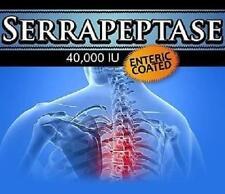 Serrapeptase Pills Pain Relief Bones Arthritis  Anti Inflammatory Joints Health