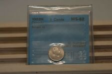 Canada 1902 small H 5 Cents Silver Coin - CCCS MS-62