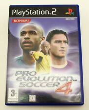 PRO EVOLUTION SOCCER 4 - PLAYSTATION 2 PS2 PLAY STATION - PAL ESPAÑA - PES