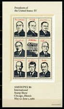 USA 1986, Scott # 2219, MNH, Presidents of the United States: IV.