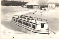 NY Postcard Rome Fort Bull Erie Canal Village boat *Free Shipping*