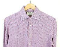 Team GB Thomas Pink Cable Check Shirt Red//Blue Various Sizes New