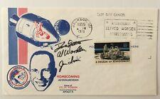 Jim Irwin Dave Scott Al Worden Apollo 15 Signed First Day Cover Full JSA Letter