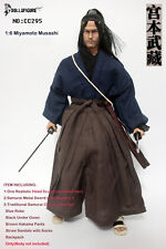 CC295 DOLLSFIGURE 1/6 Samurai Miyamoto Musashi Head,Sword with Clothing Set