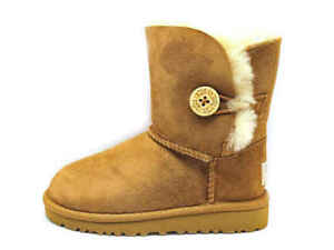 UGG Toddler Boots Bailey Button Chestnut 5991T-CHE