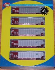 ATHEARN 93037 BETHGON COALPORTER WITH LOAD 5-PACK BNSF # 4