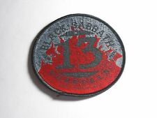 BLACK SABBATH THIRTEEN 13 WOVEN PATCH