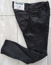 TRUE RELIGION SKINNY W/FLAPS ASCOT GREY SE Jeans Damen Jeanshose Gr.28 NEU