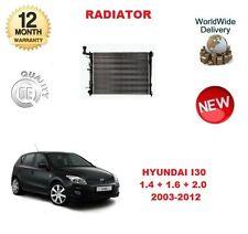 Per Hyundai I30 + Cw 1.4 1.6 2.0 2003-2012 Nuovo Raffreddamento Radiatore Unità