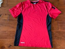 Boys Under Armour Heat Wear Top Shirt Size Large Fitted Excellent