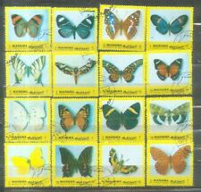 Manama Butterflies Stamps