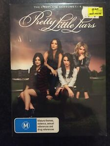 Pretty Little Liars : Season 1, 2, 3, 4, Region 4 New Sealed