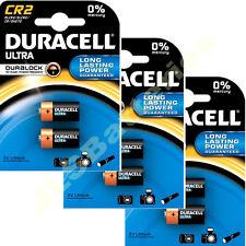 6 x DURACELL 3V LITHIUM CR2 Ultra Photo Batteries DLCR2