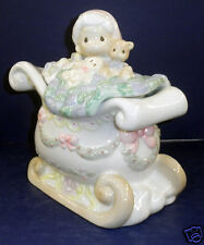 Retired Enesco Precious Moments Santa w/Presents Cookie Jar - NIB #293741