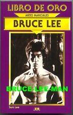 B-020 LIBRO DE ORO DE BRUCE LEE 1998 GOLD PHOTO BOOK RARE ENTER THE DRAGON COVER