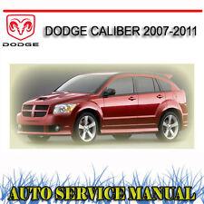 DODGE CALIBER 2007-2011 SERVICE REPAIR MANUAL ~ DVD